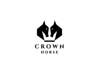 Crown Horse Logo