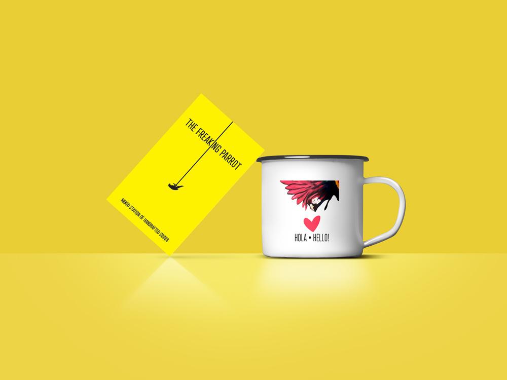 Business Card branding logo illustration