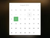 Minimal Date Picker