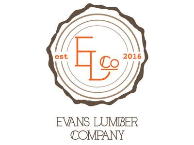 Evans Lumber Company Logo