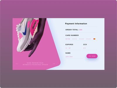 DailyUI :: 002 ( Credit Card Checkout )