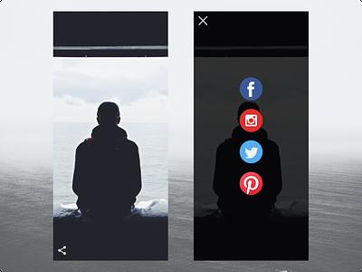 Daily UI :: 010 (Social Share)