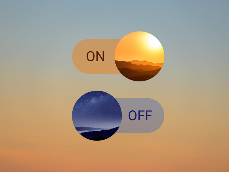 Daily UI :: 015 (On/Off Switch)