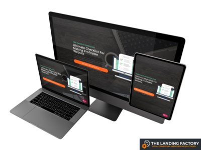 Opt-in page for simple lead magnets checklist download opt in checklist download simple lead magnets gray opt in page opt-in website page builder web design template responsive design responsive page layout landing page template landing page concept landing page elementor