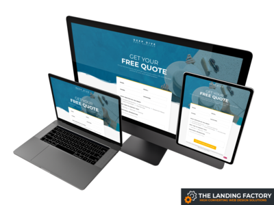 Opt-in template design for pool service companies pool cleaning pools pool cleaning company pool cleaning service pool opt in page opt-in opt in blue website page builder web design template responsive design responsive page layout landing page template landing page concept landing page elementor