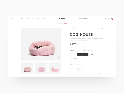 Shoping Cart / Goods for home / Furniture creative daily ui uidesign fresh colors color design shopping cart cart clean minimal