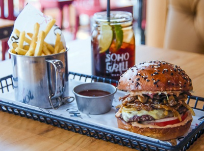 Burger - Photography