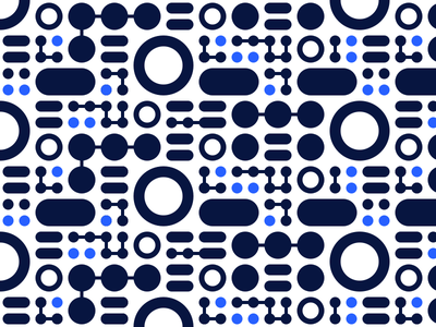 Connecting The Dots connecting dots circles pattern