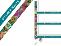 Trolley banners for Poundland