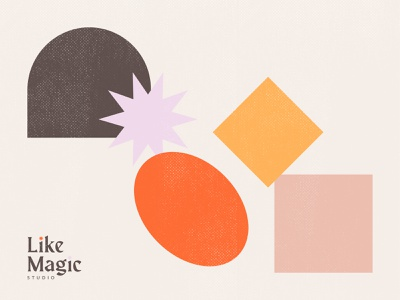 Like Magic Studio - Color Palette brand identity color palette color logo branding