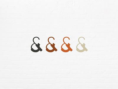 Ampersand Icon ampersand icon design icon brand identity logo typography design branding