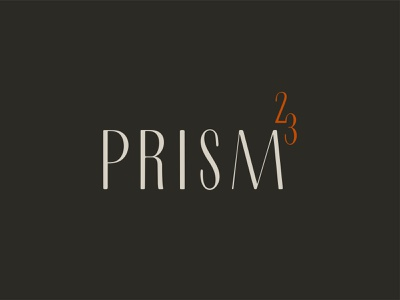 Prism23 23 prism real estate modern badge design badge brand identity logo typography design branding