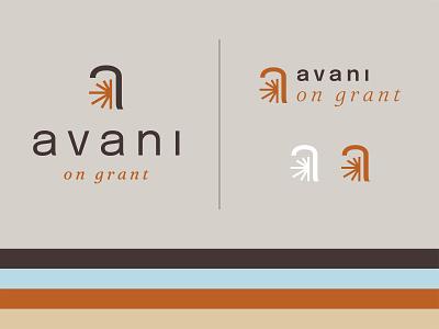 Avani on Grant desert arizona sun type design icon brand identity logo typography design branding