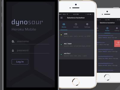 Heroku Mobile Manager
