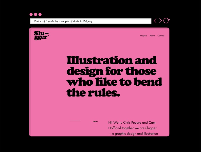 New Slugger Studio Website
