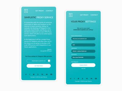 Simplistic Proxy Service