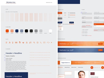 Law Firm Website Style Guide