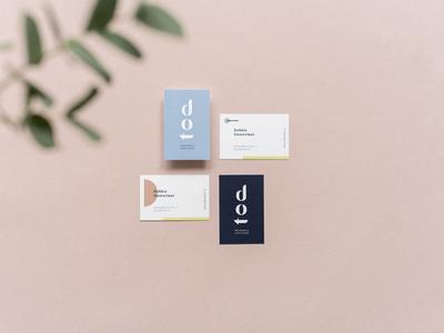 Business cards design dot