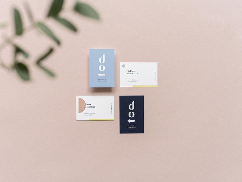 Business cards design dot typography minimal minimalist logo logotype logos logo design identity branding design logo brand identity graphic design branding brand design design business