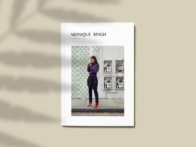 Cover Lookbook Monioque Singh