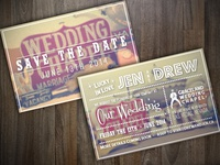 Vegas Wedding Invitations