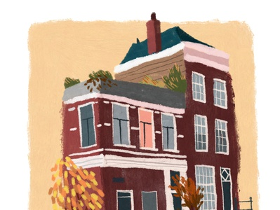 Amsterdam House- autumn