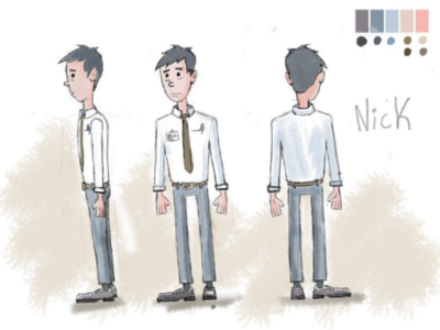 Nick - Character concept