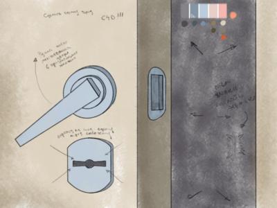 """Сhapter-2 """"Close the door"""" (sketch)"""