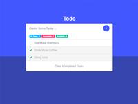 Material Design Todo App