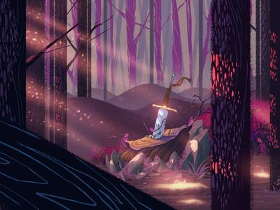 Hidden Sword-night