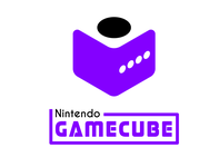 Nintendo Gamecube Rebrand adobe illustrator graphic design flat illustration game logo nintendo switch gaming logo gaming nintendoswitch logo design gamecube nintendo logodesign logo rebranding rebrand