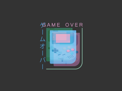 Vaporwave Gameboy