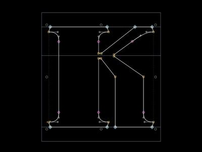 Cholo_Bold.ttf Font structure