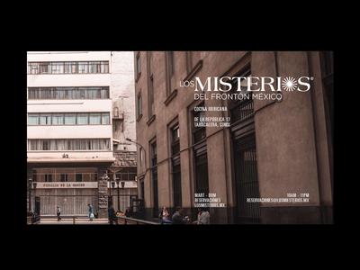 Los Misterios - Spanish Cuisine - Landingpage