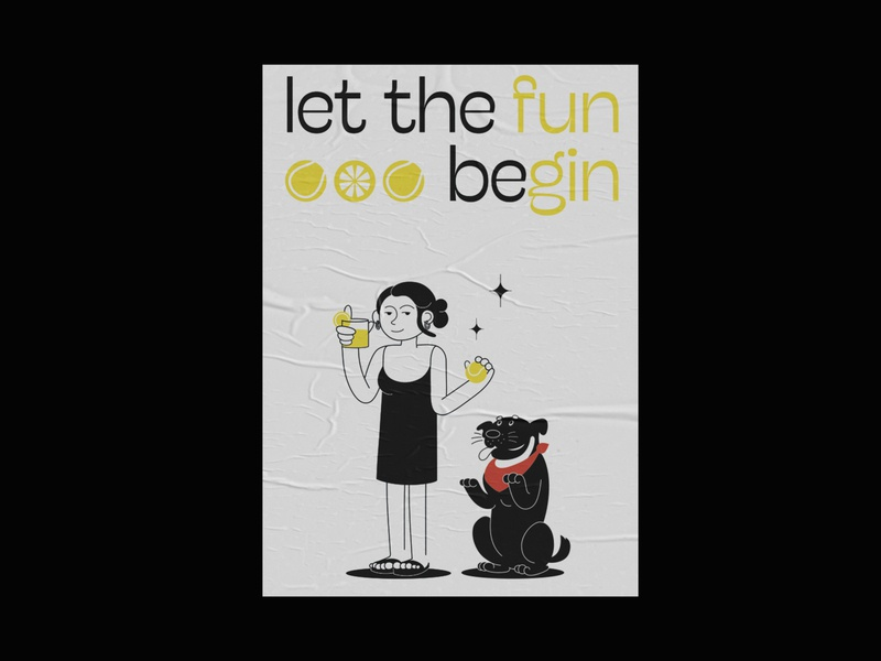 Let the fun beGin glyph typeface typo quote quoteoftheday quote design artdirection artdirector typography art composition design graphicdesigner graphicdesign illustrator illustration posterdesign typography printdesign poster print