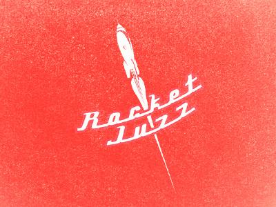 Rocket Juzz rocket juice logo liquid shot co retro vintage