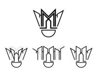 City Badminton: Event Logo Concept