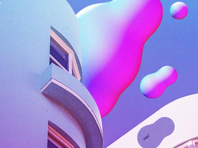 what color the clouds were graphic design futuristic futurewave future funk digital art cyberpunk colorful collage chillout 80s
