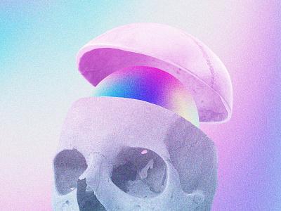 anima photoshop graphic design future funk digital art cyberpunk colorful collage chillout 80s