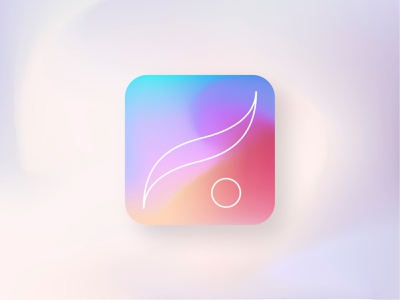 Give Procreate a (Soft) Iconic Touch redesign branding pastel ipad icon logo procreate illustration design figma