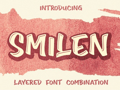 Smilen Layered Font