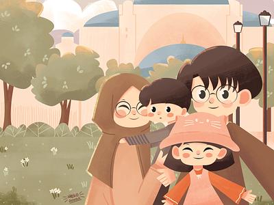 Illustration : Let's get Started blog books children illustration vector sketch design illustration art illustration affinitydesigner