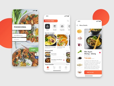 Shopping Food Ingredient Delivery delivery app delivery cooking shopping app ingredients app ingredient food app food store app store ux ui mobile ui mobile app design mobile app mobile design app