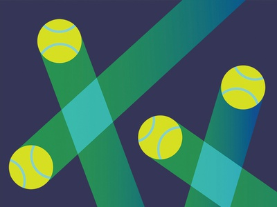 US Open Concept sports us open tennis abstract graphic design vector design illustration