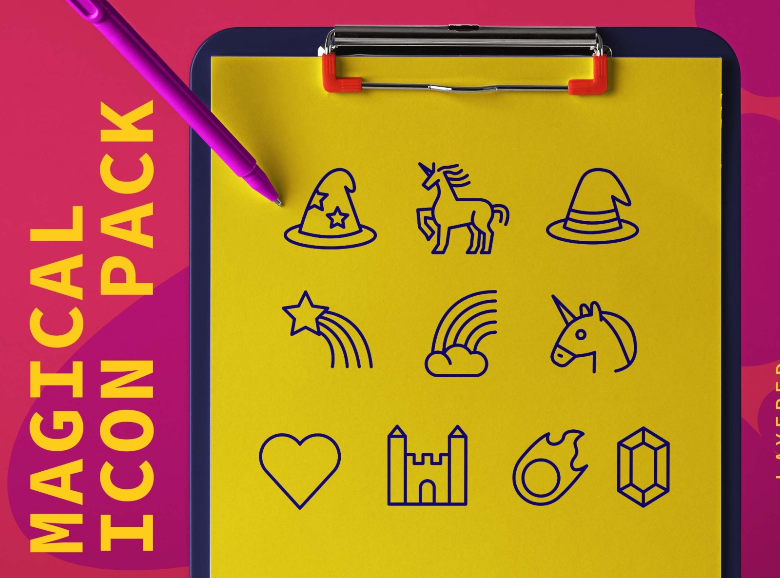 Magical icon pack