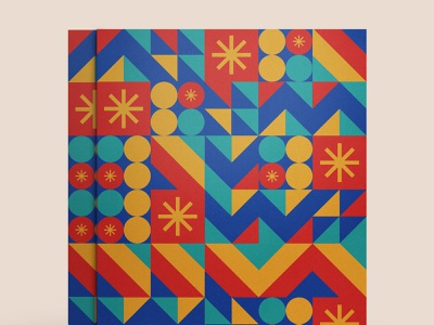Shape mosaic shapes illustration vector design