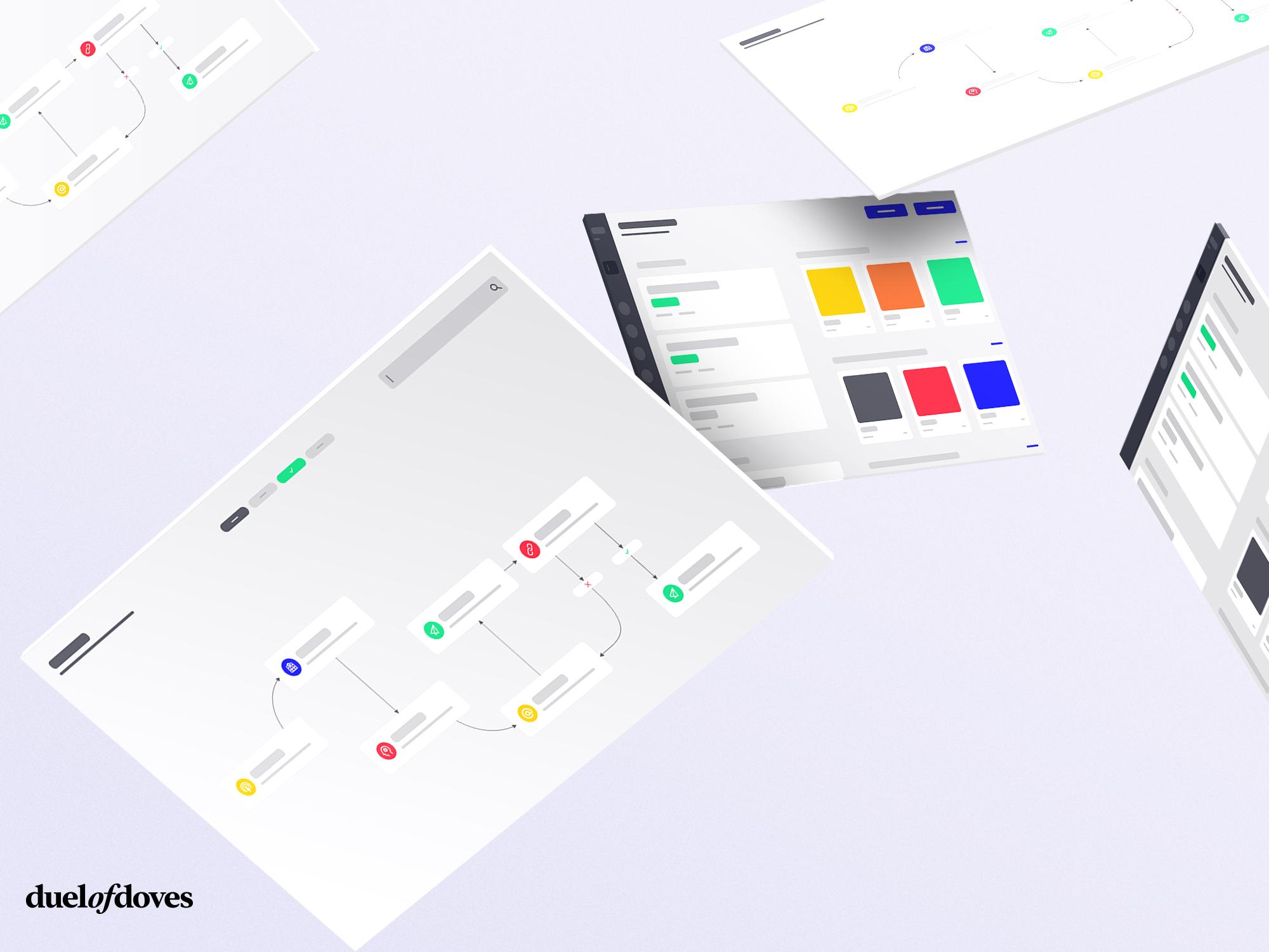 UI Loading state mock ups - vol.1