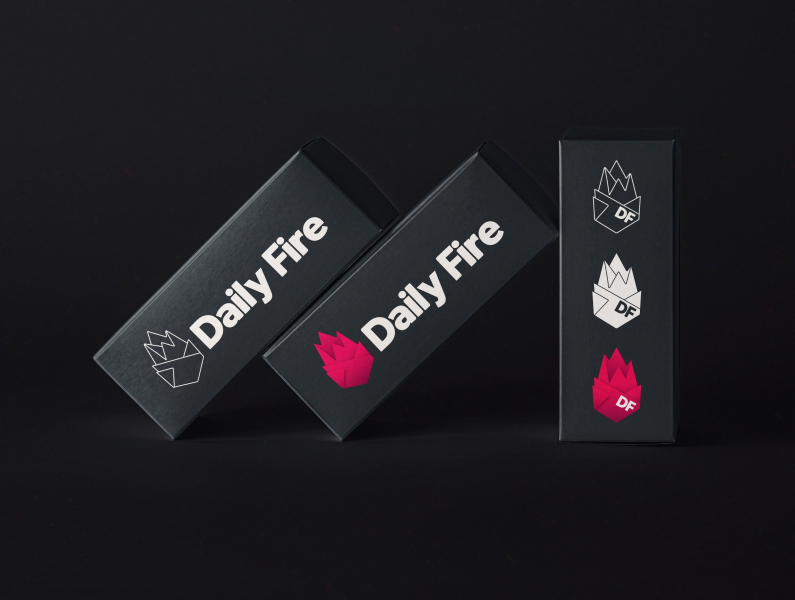 Daily Fire logo variants