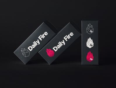 Daily Fire logo variants