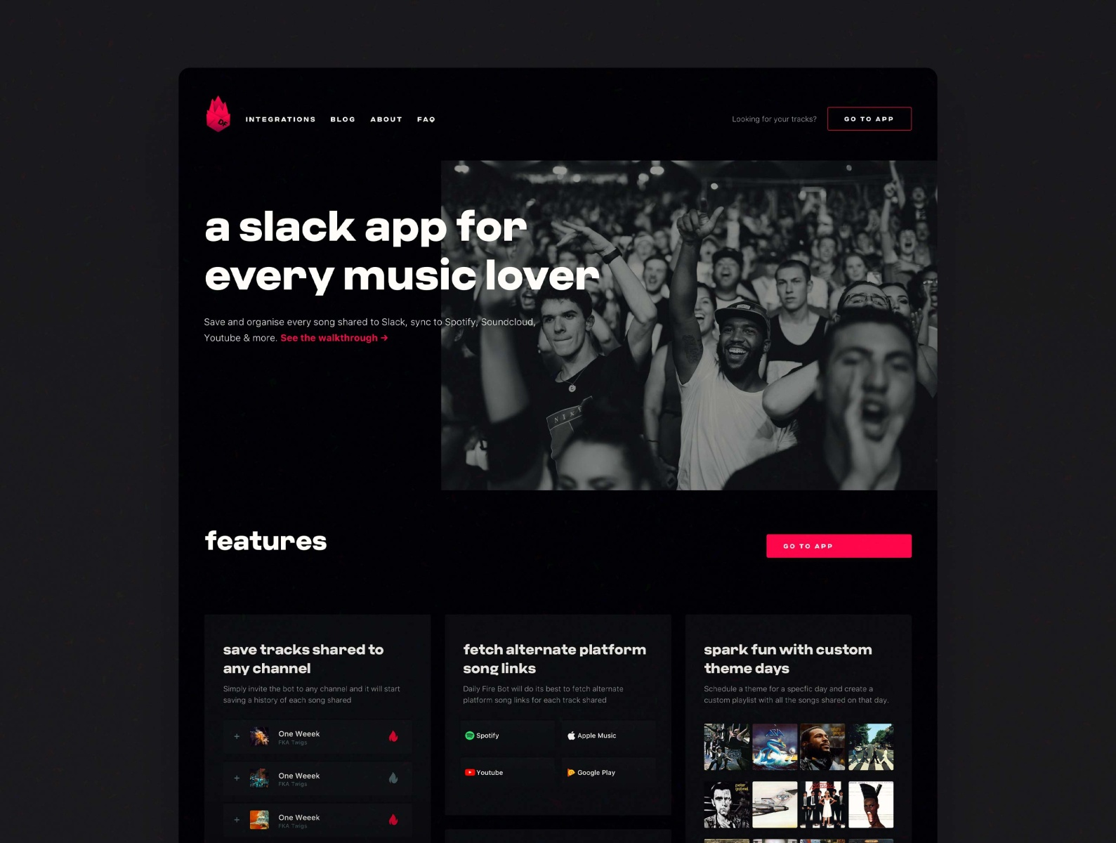 Daily Fire Landing Pages